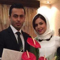 بیوگرافی نجمه جودکی+عکس های مراسم ازدواج و همسرش