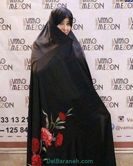 ماجرای فشن شوی چادر با حضور بازیگران زن و محدثه صفار هرندی+عکس (4)