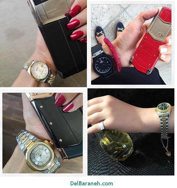 مجموعه زیبا مدل ساعت اسپرت دخترانه فانتزی و لاکچری 96