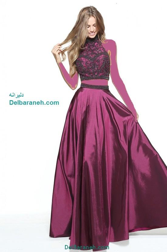 مدل لباس مجلسی بلند زنانه (1)