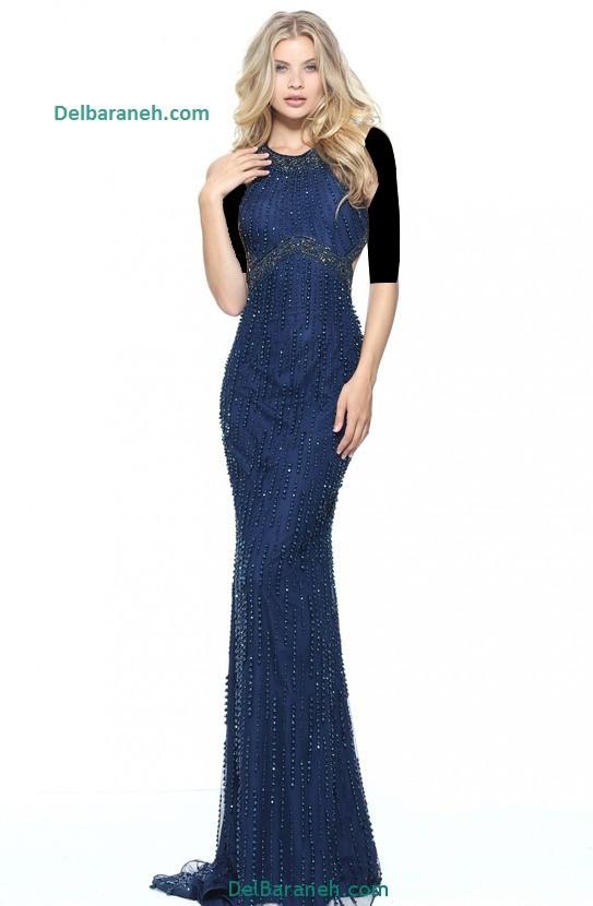 مدل لباس مجلسی بلند زنانه (10)