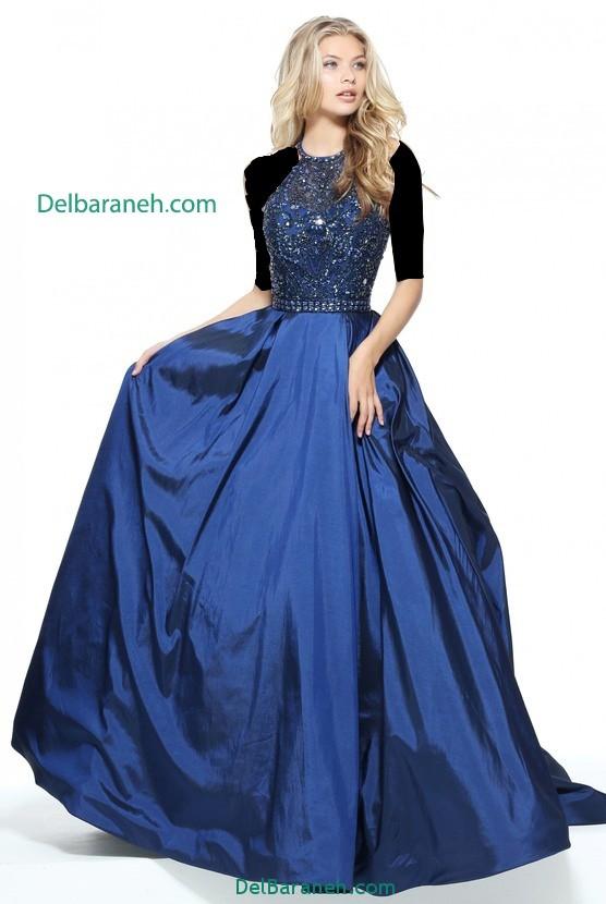 مدل لباس مجلسی بلند زنانه (11)