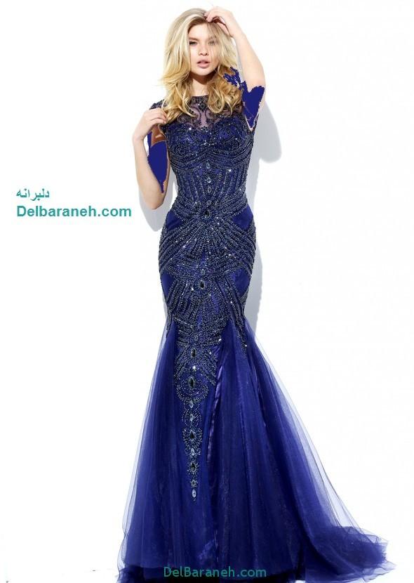 مدل لباس مجلسی بلند زنانه (12)