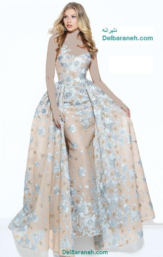 مدل لباس مجلسی بلند زنانه (14)