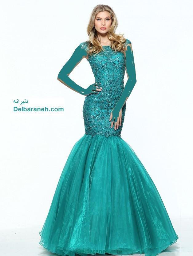 مدل لباس مجلسی بلند زنانه (18)