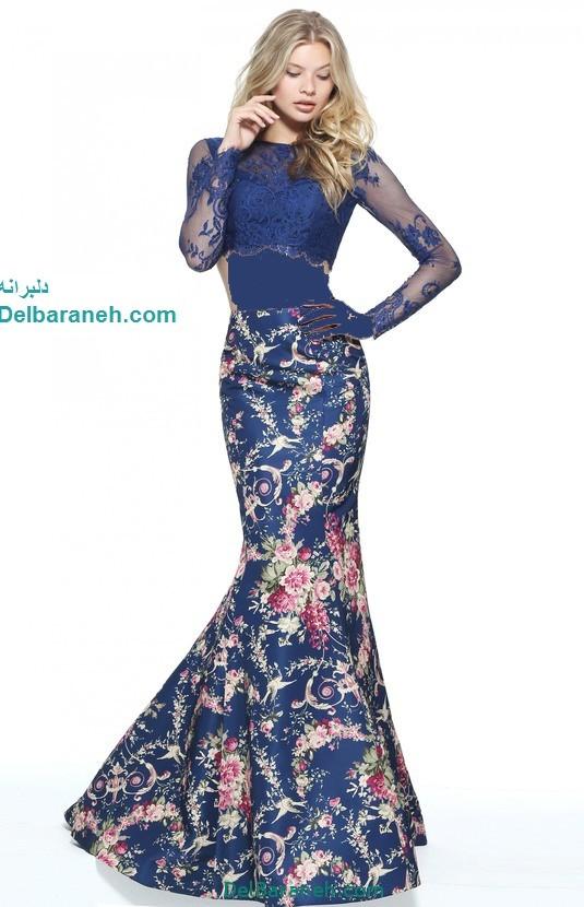 مدل لباس مجلسی بلند زنانه (2)