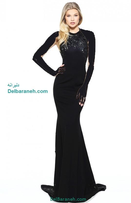 مدل لباس مجلسی بلند زنانه (20)