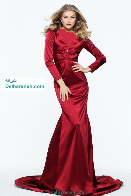 مدل لباس مجلسی بلند زنانه (21)