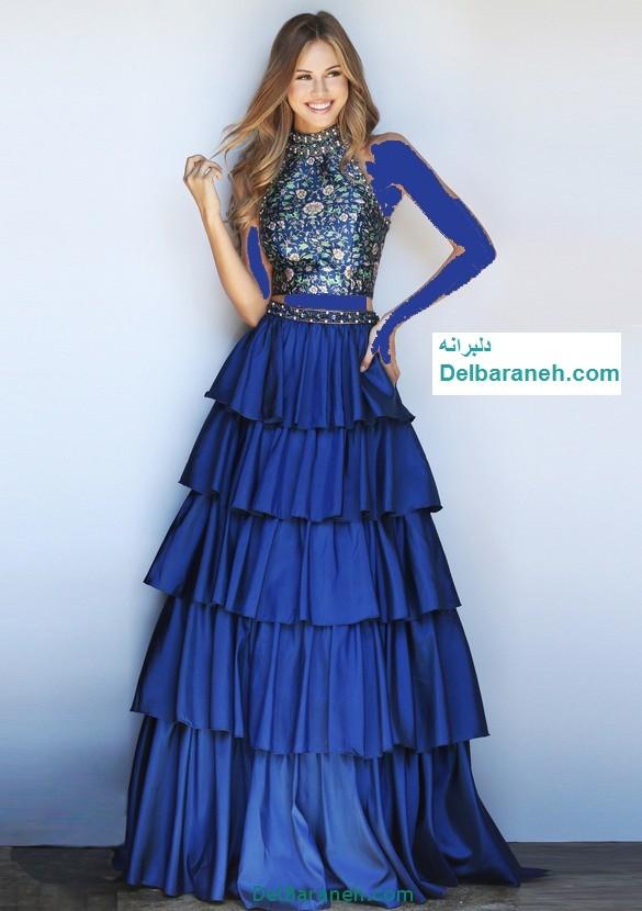 مدل لباس مجلسی بلند زنانه (22)