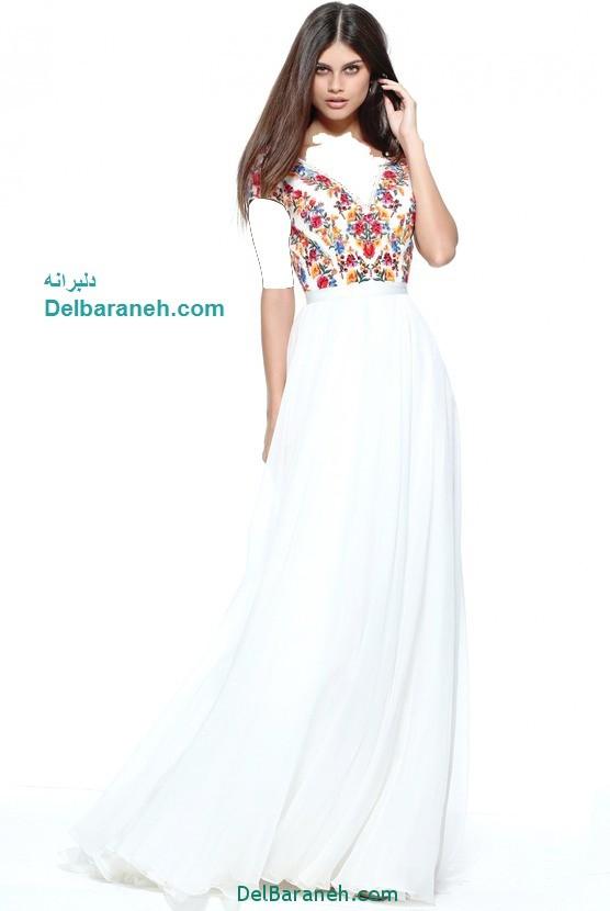 مدل لباس مجلسی بلند زنانه (3)