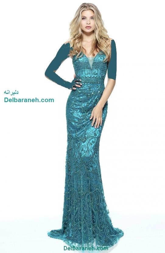 مدل لباس مجلسی بلند زنانه (4)