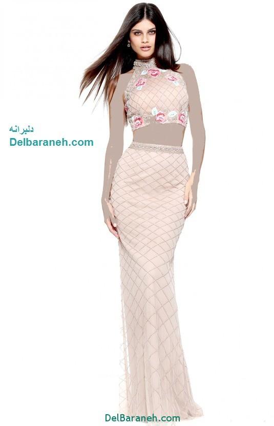 مدل لباس مجلسی بلند زنانه (5)