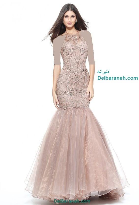 مدل لباس مجلسی بلند زنانه (8)
