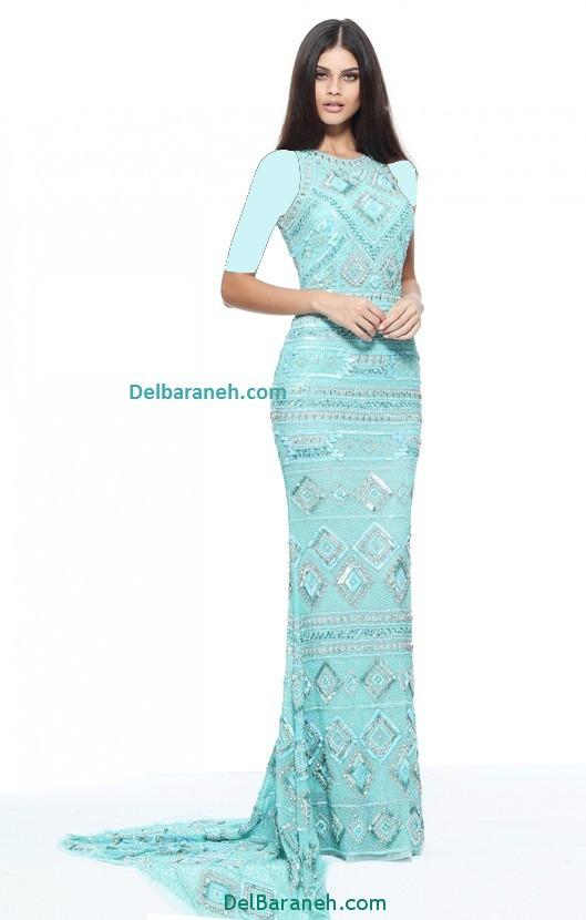مدل لباس مجلسی بلند زنانه (9)
