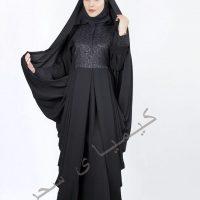 انواع مدل چادر مشکی عربی دانشجویی ملی زنانه ۲۰۱۷ – ۱۳۹۶