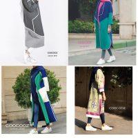 مدل مانتو مجلسی کوتاه دخترانه در رنگ ها مختلف و شاد ۲۰۱۷-۱۳۹۶