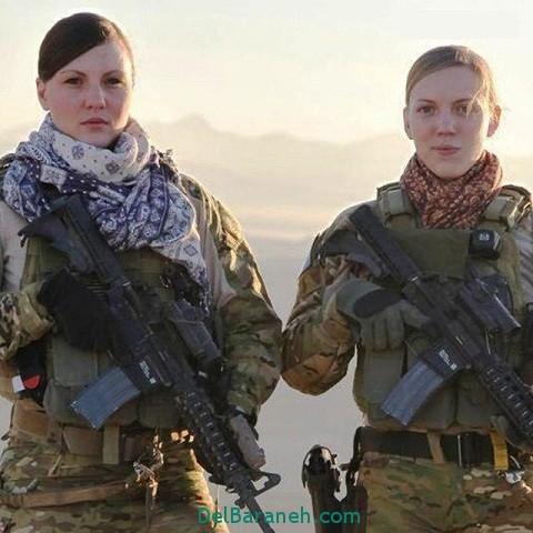 ماجرای انتشار عکس های لخت و برهنه تفنگداران زن آمریکایی
