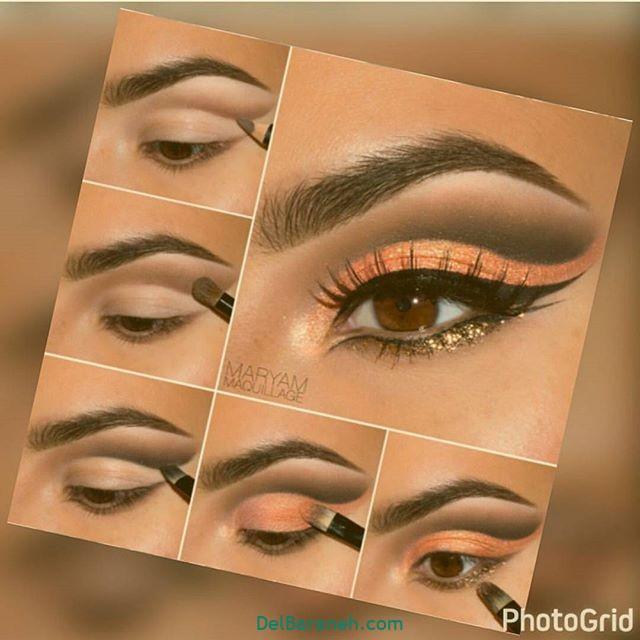آرایش چشم مرحله به مرحله (۱)