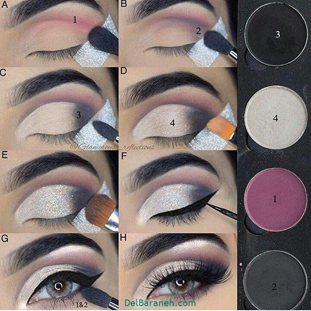 آرایش چشم مرحله به مرحله (۲۰)
