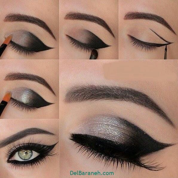 آرایش چشم مرحله به مرحله (۳)