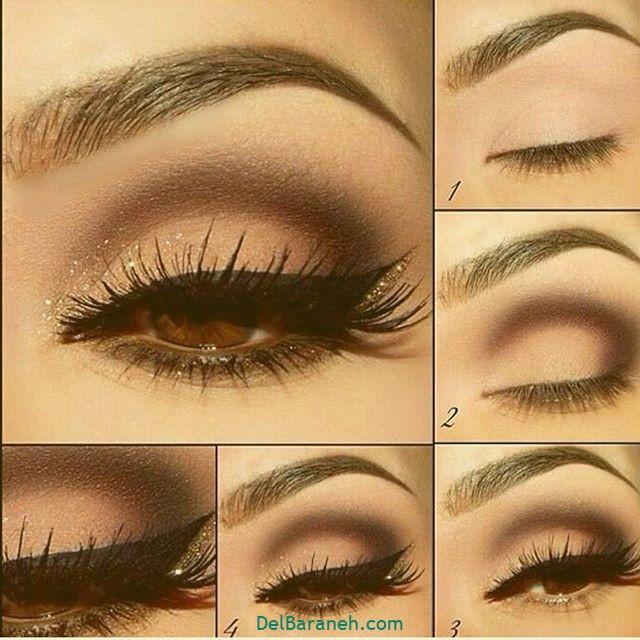 آرایش چشم مرحله به مرحله (۴)