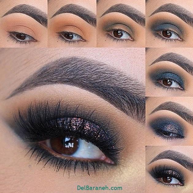 آرایش چشم مرحله به مرحله (۶)