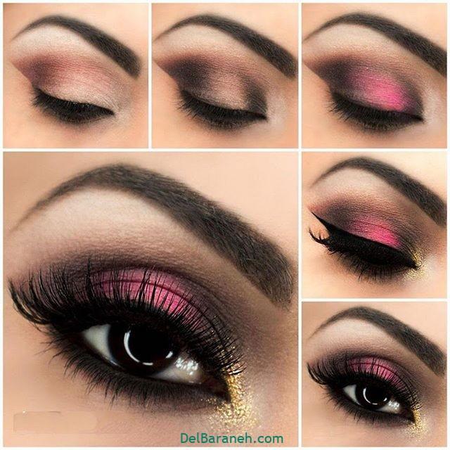 آرایش چشم مرحله به مرحله (۷)
