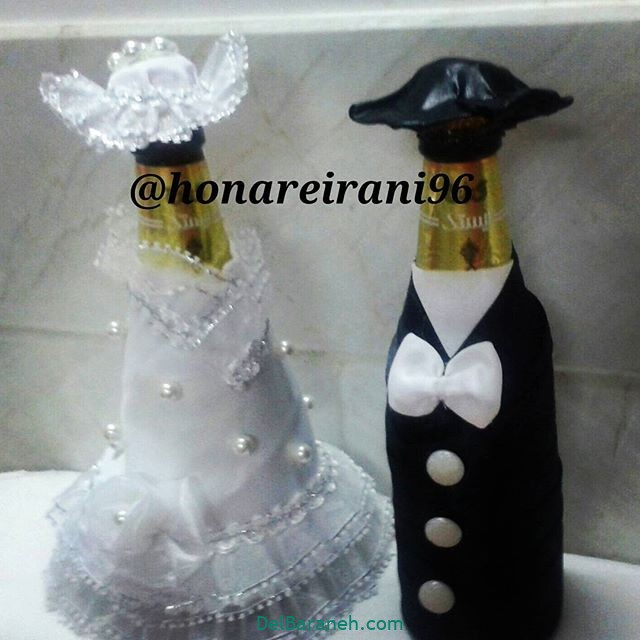 مدل تزئین یخچال عروس (18)