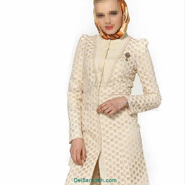 مدل مانتو گیپور مجلسی (۴)