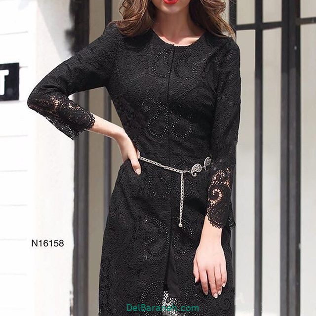 مدل مانتو گیپور مجلسی (۶)