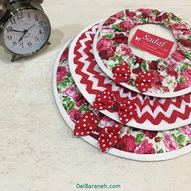 40 مدل سرویس آشپزخانه پارچه ای عروس شیک و زیبا (سری دوم)