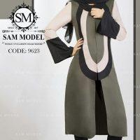 مدل مانتو برش دار دخترانه با طرح های خاص مناسب دانشگاه ۹۷