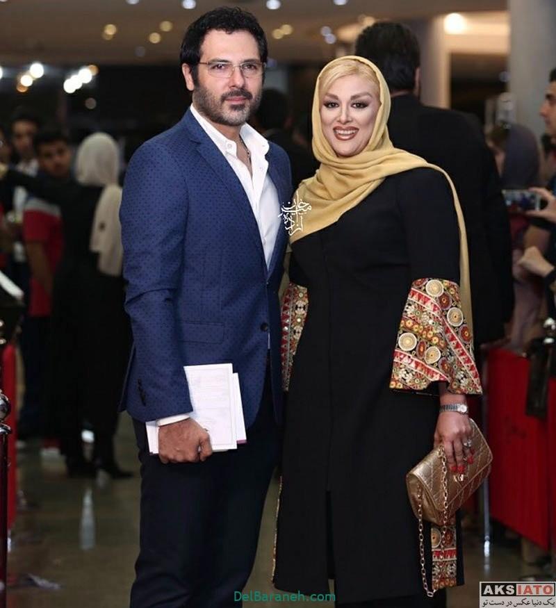 تصاویر کوروش تهامی بازیگر فیلم سینمایی رگ خواب و همسرش