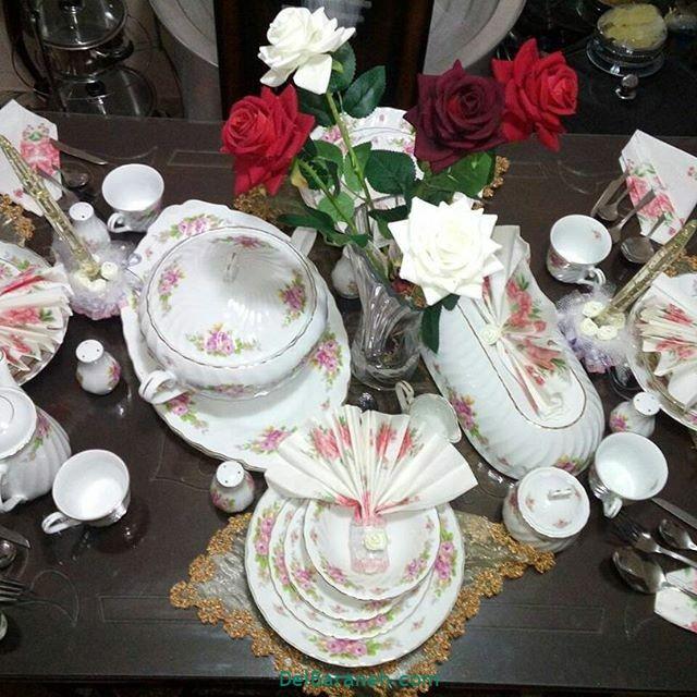تزیین جهیزیه عروس (۱)
