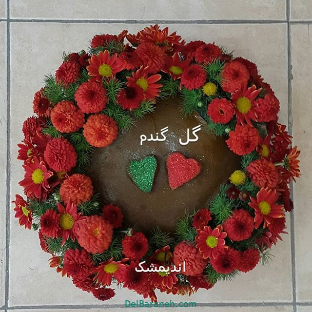 تزیین حنا عروس (۵)