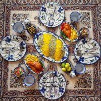 تزیین سفره ایرانی | ۸۰ عکس زیبا از تزیین سفره ایرانی به سبک دلنشین سنتی