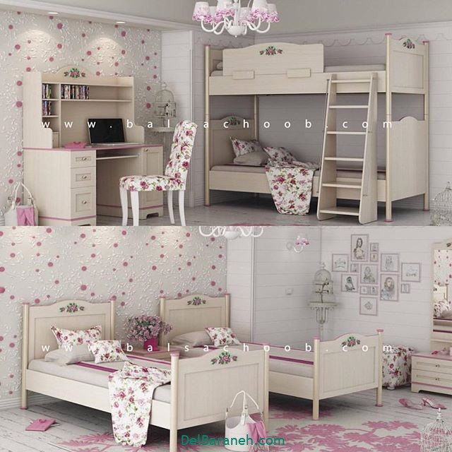 دکوراسیون اتاق دخترانه (۱)