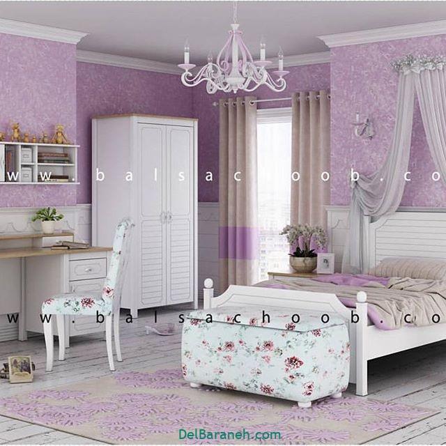 دکوراسیون اتاق دخترانه (۱۷)