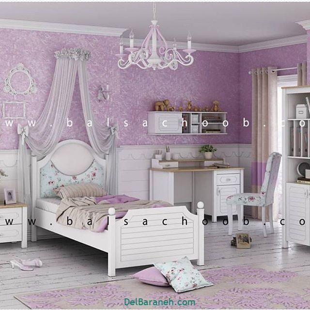دکوراسیون اتاق دخترانه (۱۸)