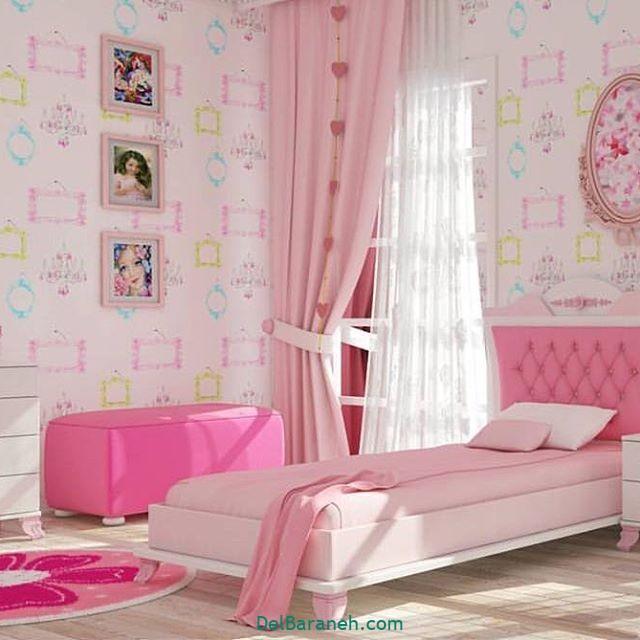 دکوراسیون اتاق دخترانه (۱۹)
