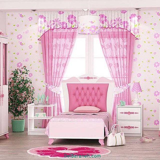 دکوراسیون اتاق دخترانه (۲۰)