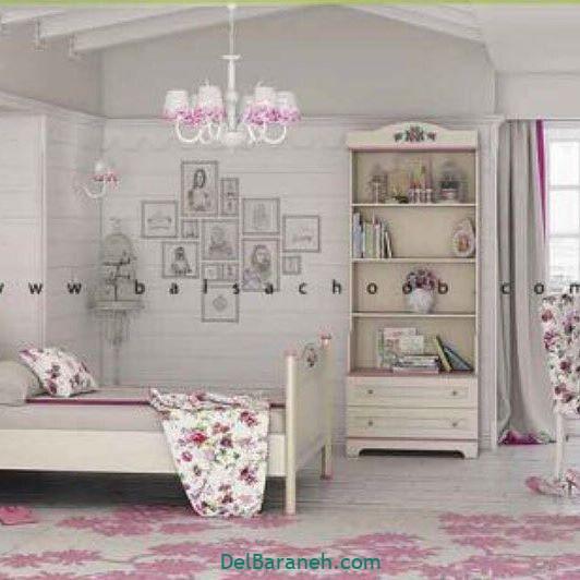 دکوراسیون اتاق دخترانه (۸)