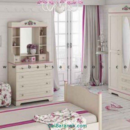 دکوراسیون اتاق دخترانه (۹)