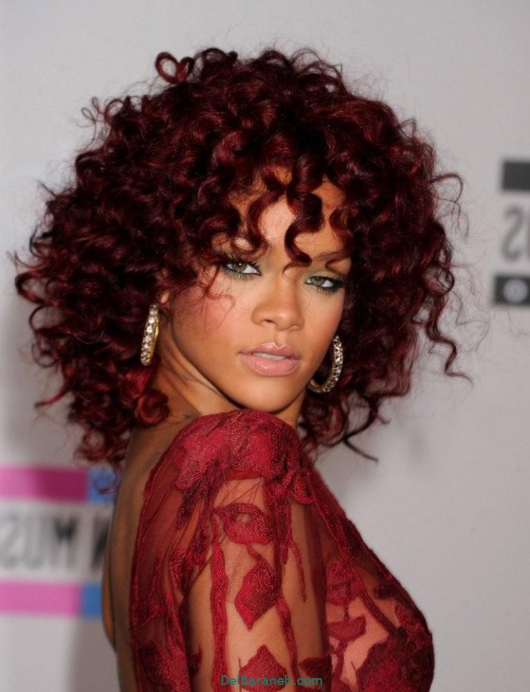 رنگ مو برای پوست سبزه (۱)