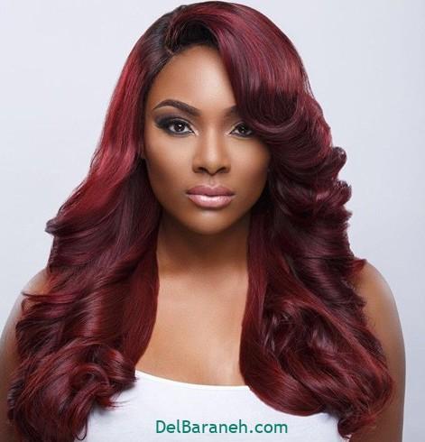 رنگ مو برای پوست سبزه (۵)