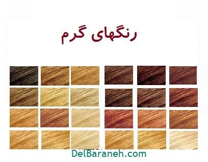 رنگ مو برای پوست سبزه (۸)
