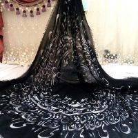 روسری مشکی | ۵۰ مدل روسری مشکی برای عزاداری های محرم
