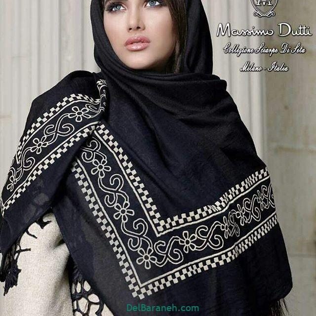 روسری مشکی (۹)