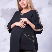 لباس بارداری برای محرم | ۲۲ مدل لباس باردرای مشکی برای ایام محرم