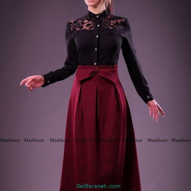 لباس مشکی زنانه (۲۵)